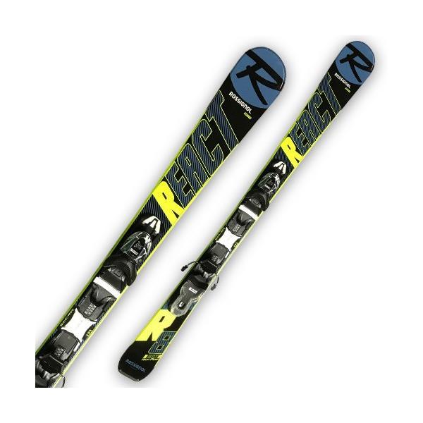 ROSSIGNOL ( ロシニョール スキー板 ) ショートスキー 【2019-2020】 MINI REACT 123 + XPRESS 10 B83 ミニリアクト【金具付き スキーセット】