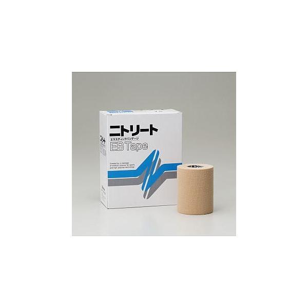 日東メディカル テーピング スポーツテープ ニトリートEBテープ EB-75 75mm x 4m(伸尺) 4巻 [T]