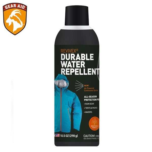 GEAR AID REVIVEX DURABLE WATER REPELLENT SPRAY 10.5oz 36221 ギアエイド デュラブル ウォーター リペレント スプレー 衣類用撥水剤