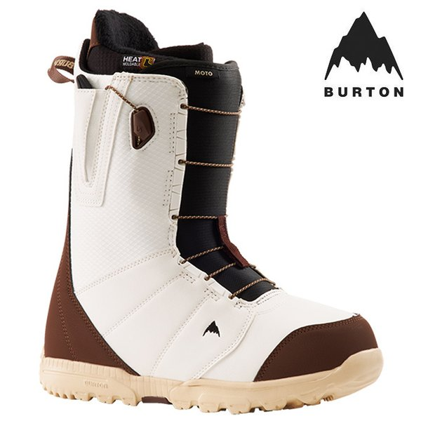 バートン ブーツ 21-22 BURTON MOTO White/Brown モト スノーボード 日本正規品 予約
