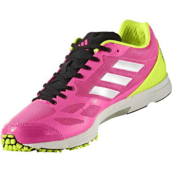 adidas アディダス (メンズ ランニングシューズ) adiZERO feather RK 2(アディゼロフェザーRK 2) BB6443 スーパーPNK F15 sports-lab