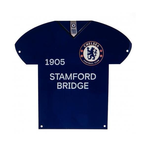 Chelsea FC Metal Shirt Sign / チェルシーFCメタルシャツサイン