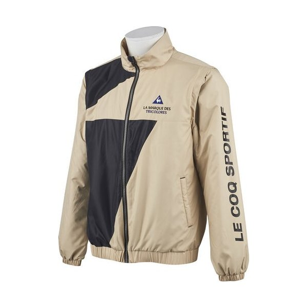 lecoq sportif(ルコック) QGMOJK04 メンズ 2WAY中綿タフレックスアウター ゴルフウェア コート ブルゾン ヒートナビ