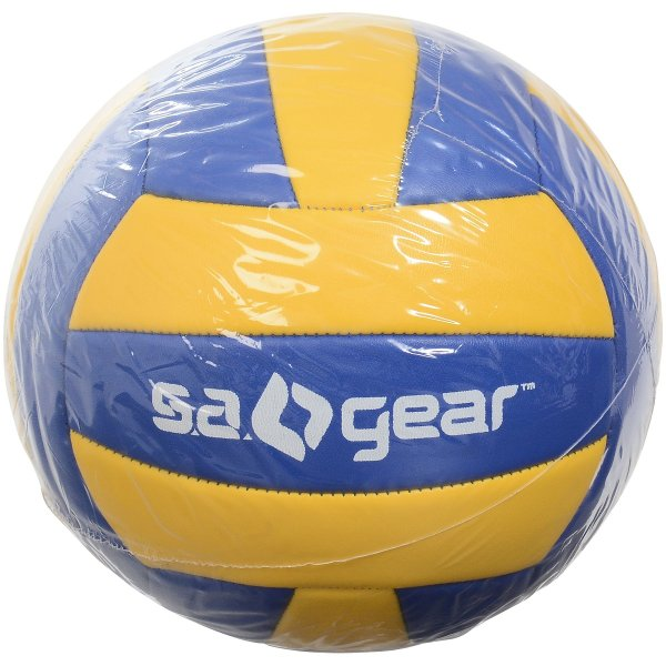 s.a.gear エスエーギア バレーボール5号球 SA-Y19-003-051 バレーボール 5号ボール ブルー/イエロー 5ゴウ