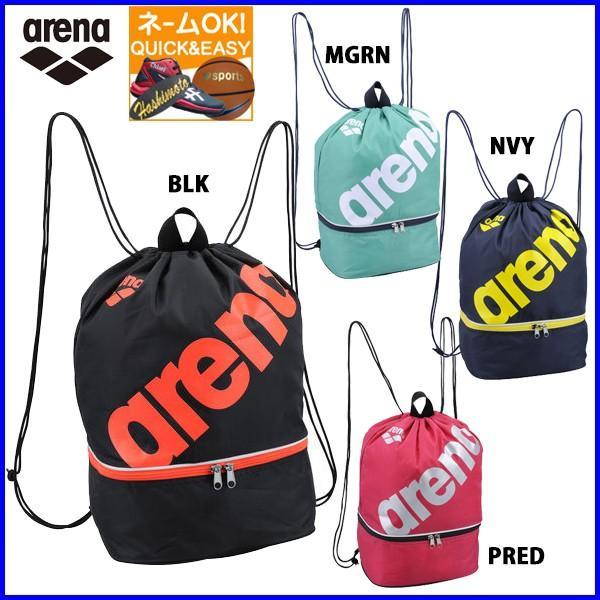 eec3b2f630f ネーム刺繍OK アリーナ スイミングバッグ 水泳バッグ プールバッグ AEANJA03|sportsbeans ...