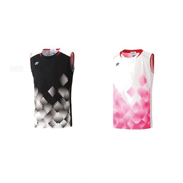 「365日出荷」ヨネックス YONEX バドミントンウェア ジュニア ゲームシャツ ノースリーブ  10350J 19FW  夏用 冷感『即日出荷』