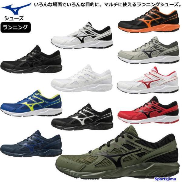 ミズノシューズランニングシューズメンズウォーキングシューズK1GA210011カラーMIZUNO靴3E幅広ワイド軽量ランニング男