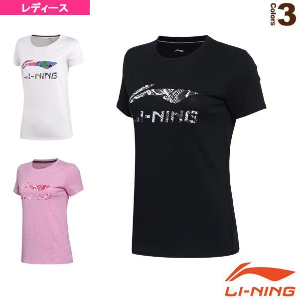 リーニン テニス・バドミントンウェア(レディース)  トレーニングTシャツ/レディース(AHSM074)