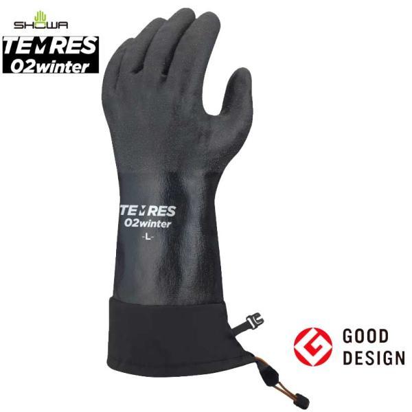 テムレス 02 ウィンター TEMRES 02 WINTER 防寒 防水 グローブ 手袋|sportsx
