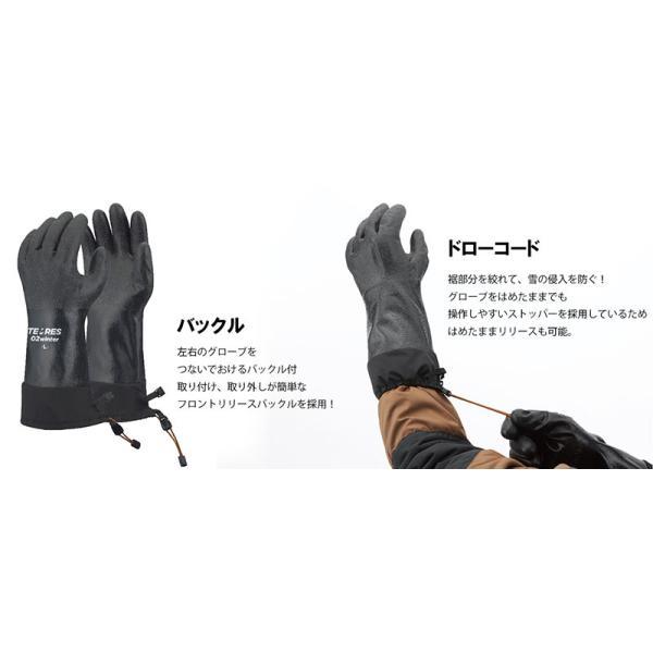 テムレス 02 ウィンター TEMRES 02 WINTER 防寒 防水 グローブ 手袋|sportsx|03