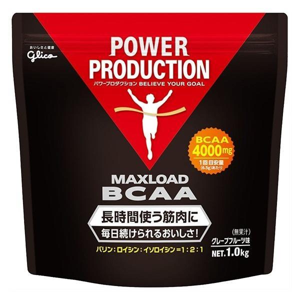 グリコ サプリメント マックスロードBCAA グレープフルーツ味 1Kg 76008 Glico