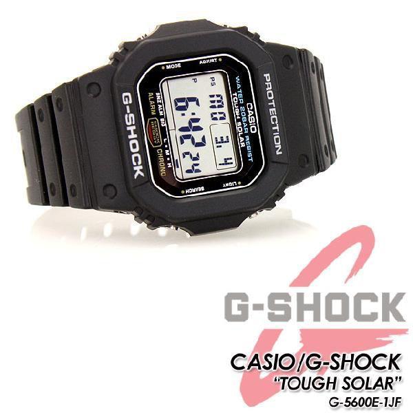 G-SHOCK Gショック タフソーラーモデル G-5600E-1JF|spray|03