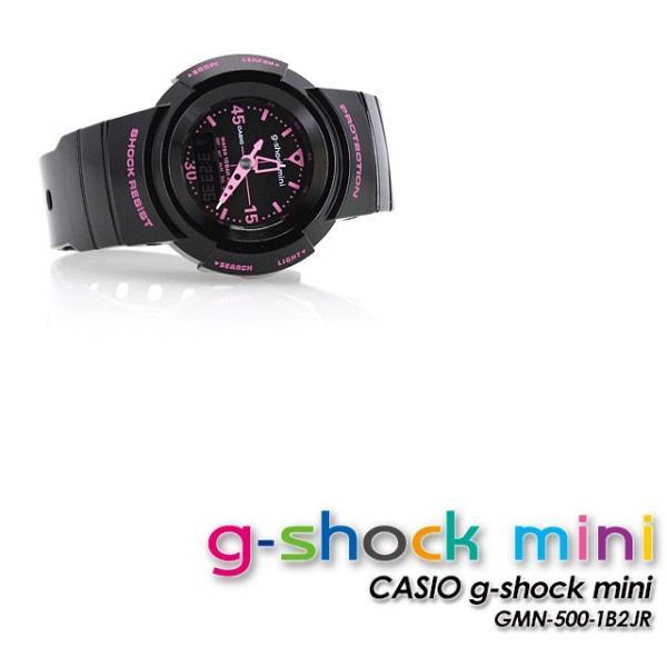 g-shock mini ジーショックミニ Gショック GMN-500-1B2JR black pink|spray|03