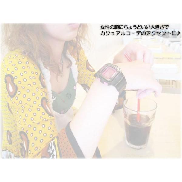 Gショック G-SHOCK GMN-550-1BJR mini G-ショック ミニ black pink 腕時計|spray|03