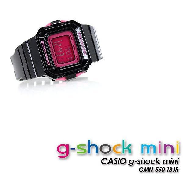 Gショック G-SHOCK GMN-550-1BJR mini G-ショック ミニ black pink 腕時計|spray|04