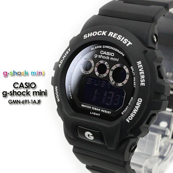 Gショック G-SHOCK mini GMN-691-1AJF  Gショック matte black 腕時計|spray