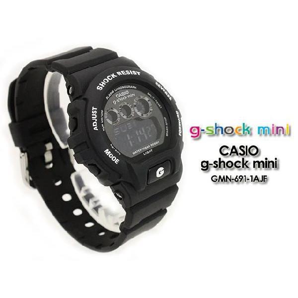 Gショック G-SHOCK mini GMN-691-1AJF  Gショック matte black 腕時計|spray|02