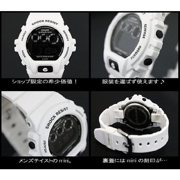 g-shock mini Gショック ミニ GMN-691-7AJF white black|spray|04