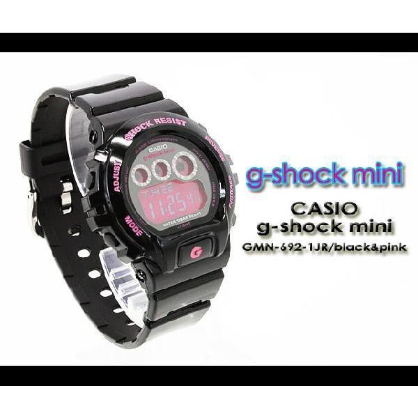 g-shock mini ミニ GMN-692-1JR black pink|spray|02