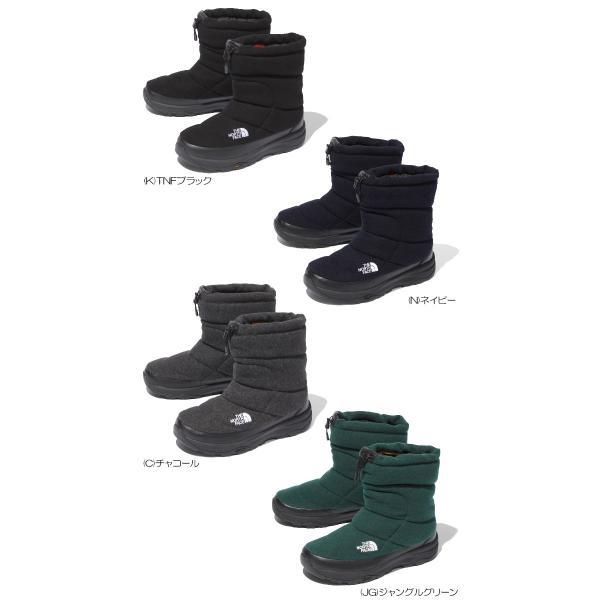 ノースフェイス メンズ レディース ブーツ THE NORTH FACE NF51978 ヌプシ ブーティー ウール 5  Nuptse Bootie Wool 5 spray 02
