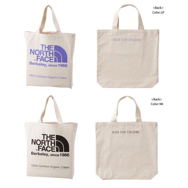 THE NORTH FACE ノースフェイス  TNF ORGANIC COTTON TOTE TNFオーガニックコットントート NM81616|spray|03