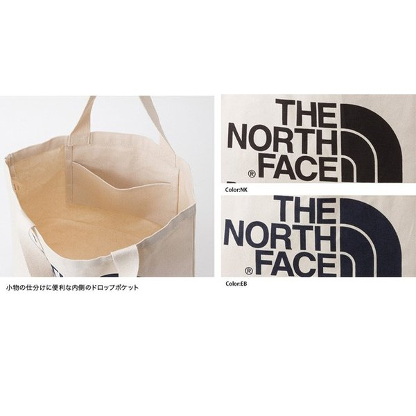 THE NORTH FACE ノースフェイス  TNF ORGANIC COTTON TOTE TNFオーガニックコットントート NM81616|spray|04
