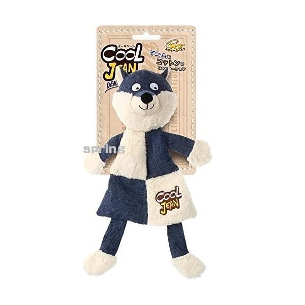 COOL JEAN クールジーン フォックス 犬用 おもちゃ TOY ぬいぐるみ PLATZ プラッツ