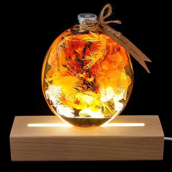 ハーバリウム(植物標本) 中瓶 /プリザーブドフラワー ドライフラワー  誕生日 プレゼント ギフト 結婚祝い 父の日|springch|09