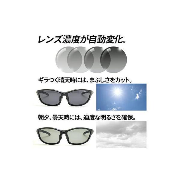 スポーツサングラス 偏光調光サングラス エレッセ UVカット 紫外線カット ゴルフ 釣り メンズ サングラス ellesse ES-S203HT|sptry|02