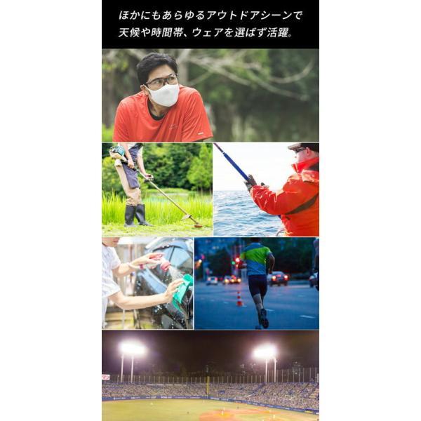 サングラス メンズ 偏光サングラス エレッセ スポーツサングラス UVカット ゴルフ ドライブ ジョギング 野球 クリアレンズ|sptry|08