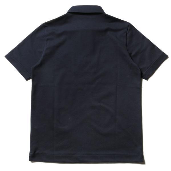 メンズ ポロシャツ メンズファッション TC シルケット 鹿の子 ワイドスプレッドカラー 半袖 ポロシャツ Harriss ハリス|spu|11