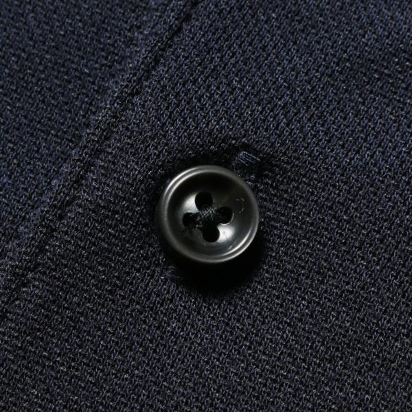 メンズ ポロシャツ メンズファッション TC シルケット 鹿の子 ワイドスプレッドカラー 半袖 ポロシャツ Harriss ハリス|spu|14