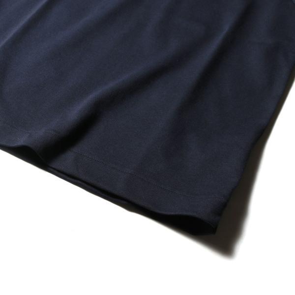 メンズ ポロシャツ メンズファッション TC シルケット 鹿の子 ワイドスプレッドカラー 半袖 ポロシャツ Harriss ハリス|spu|15