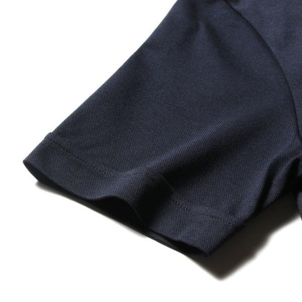 メンズ ポロシャツ メンズファッション TC シルケット 鹿の子 ワイドスプレッドカラー 半袖 ポロシャツ Harriss ハリス|spu|16