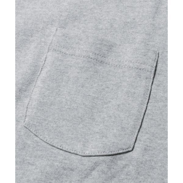 ビッグtシャツ メンズ tシャツ USAコットン ポケT ポケット へビーウエイトドロップショルダー ワイド 半袖 カットソー|spu|12