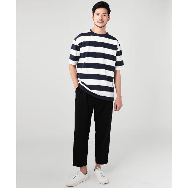ビッグtシャツ メンズ tシャツ USAコットン ポケT ポケット へビーウエイトドロップショルダー ワイド 半袖 カットソー|spu|06