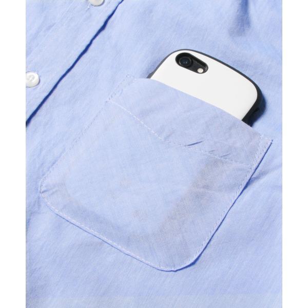 シャツ メンズ ブロードシャツ ボタンダウン バンドカラー 綿 長袖シャツ SPU スプ|spu|14