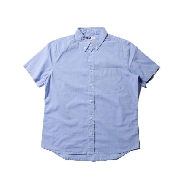シャツ メンズ ブロードシャツ ボタンダウン バンドカラー 綿 長袖シャツ SPU スプ|spu|08