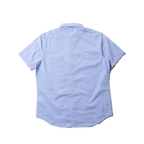 シャツ メンズ ブロードシャツ ボタンダウン バンドカラー 綿 長袖シャツ SPU スプ|spu|09