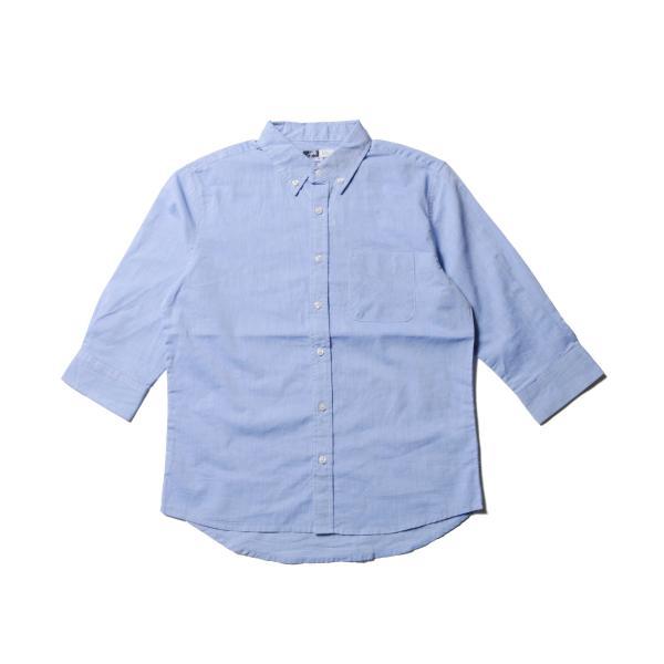 シャツ メンズ ブロードシャツ ボタンダウン バンドカラー 綿 長袖シャツ SPU スプ|spu|10