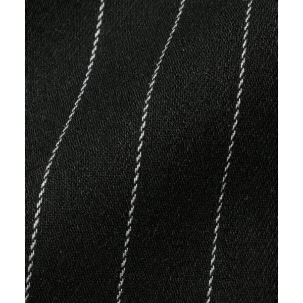 パンツ メンズ スラックス ジョガーパンツ ワイドパンツ TR素材 ストレッチ spu 16