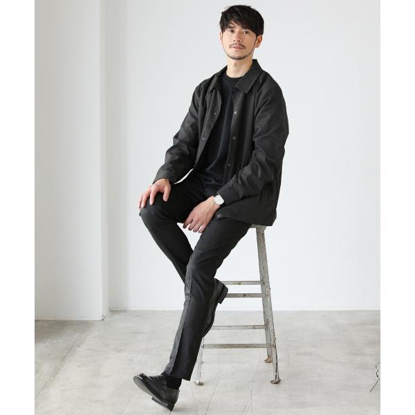 パンツ メンズ スラックス ジョガーパンツ ワイドパンツ TR素材 ストレッチ spu 04