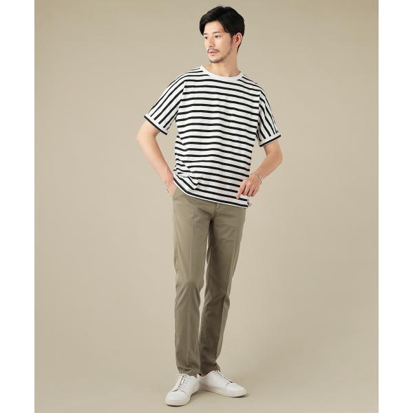 パンツ メンズ スラックス ジョガーパンツ ワイドパンツ TR素材 ストレッチ spu 05