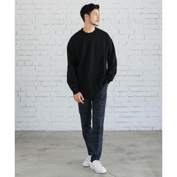 パンツ メンズ スラックス ジョガーパンツ ワイドパンツ TR素材 ストレッチ spu 10