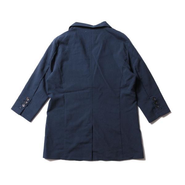 メンズ ジャケット メンズファッション 綿麻 ナチュラル ストレッチ シアサッカー 七分袖 テーラード ジャケット SPU スプ|spu|09