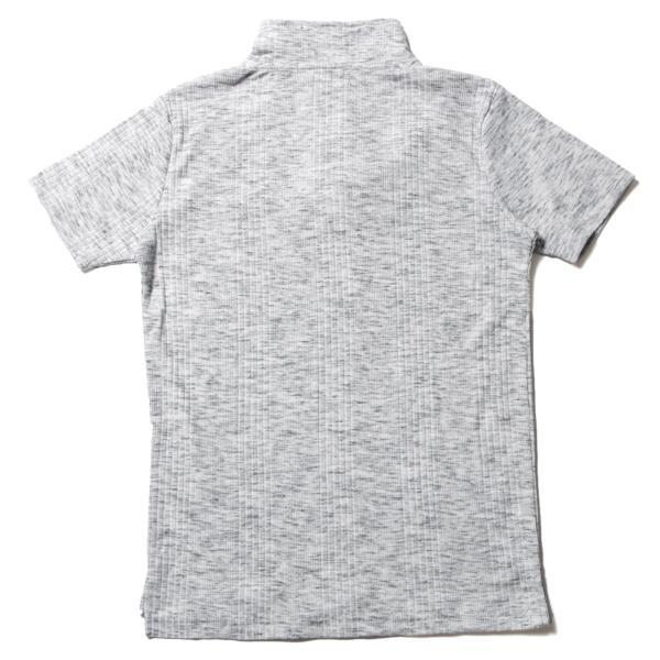 ポロシャツ メンズ ランダムテレコ テレコ スキッパー 半袖 ポロシャツ Buyer's Select バイヤーズセレクト|spu|15