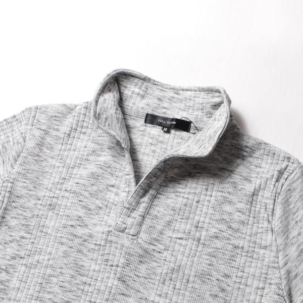 ポロシャツ メンズ ランダムテレコ テレコ スキッパー 半袖 ポロシャツ Buyer's Select バイヤーズセレクト|spu|16