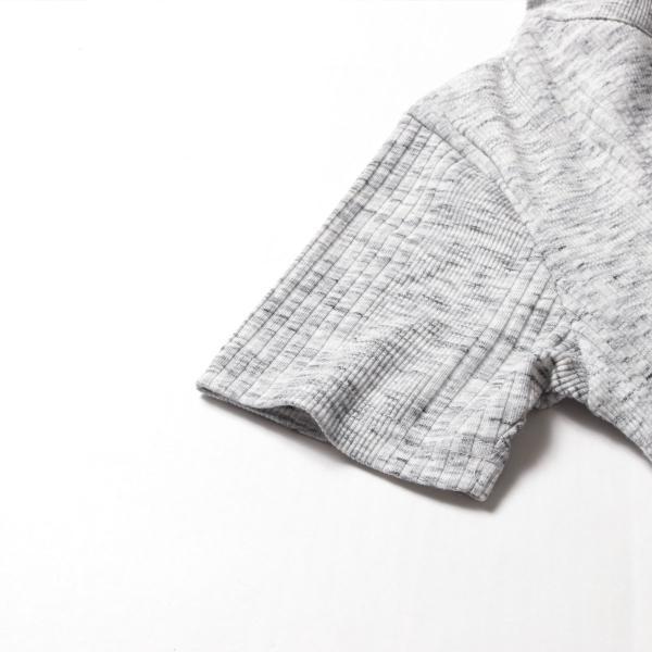 ポロシャツ メンズ ランダムテレコ テレコ スキッパー 半袖 ポロシャツ Buyer's Select バイヤーズセレクト|spu|18