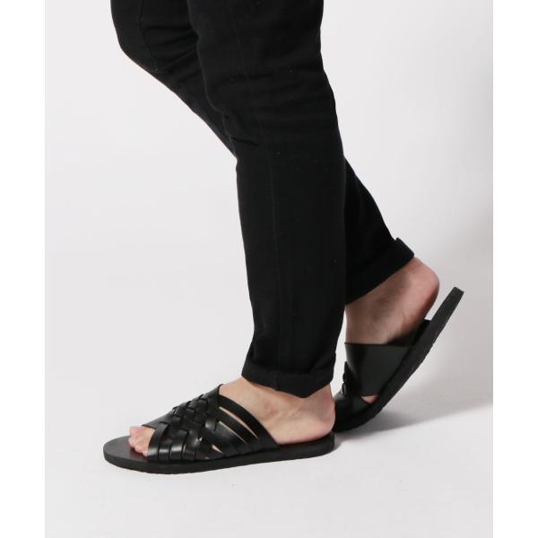 メンズ サンダル メンズファッション PUレザー イントレデザイン サンダル Buyer's Select バイヤーズセレクト|spu|12