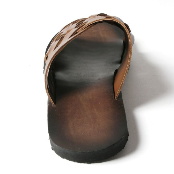 メンズ サンダル メンズファッション PUレザー イントレデザイン サンダル Buyer's Select バイヤーズセレクト|spu|08